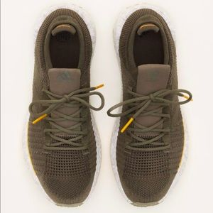 adidas x monocle Olive trainers pulse boost HD